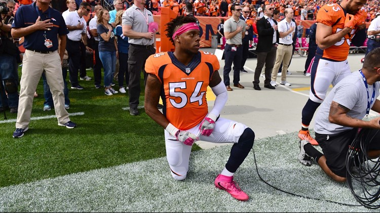 Brandon Marshall on NFL's new anthem policy: 'I don't like it'
