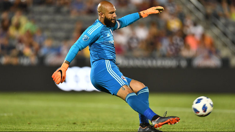 Colorado Rapids goalkeeper Tim Howard