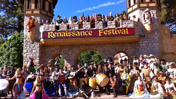 Colorado Renaissance Festival gate