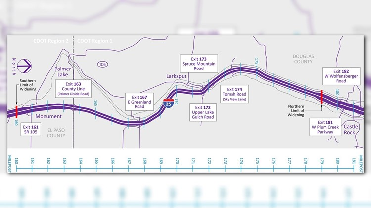 Tuesday is last day to comment on I-25 South Gap project | 9news com