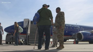 Inaugural High Plains Honor Flight took off Sunday morning, taking 120 vets to D.C.