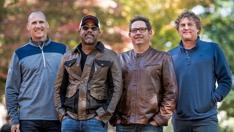 Hootie & the Blowfish Portrait Session