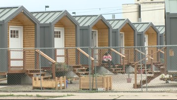 Tiny home village for people experiencing homelessness moving out of RiNo