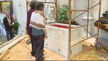 Julia Greeley's tomb gets a new home