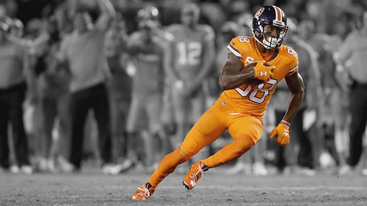 sports shoes 40d4e 0dd48 Broncos' Color Rush uniforms coming home vs. Steelers ...