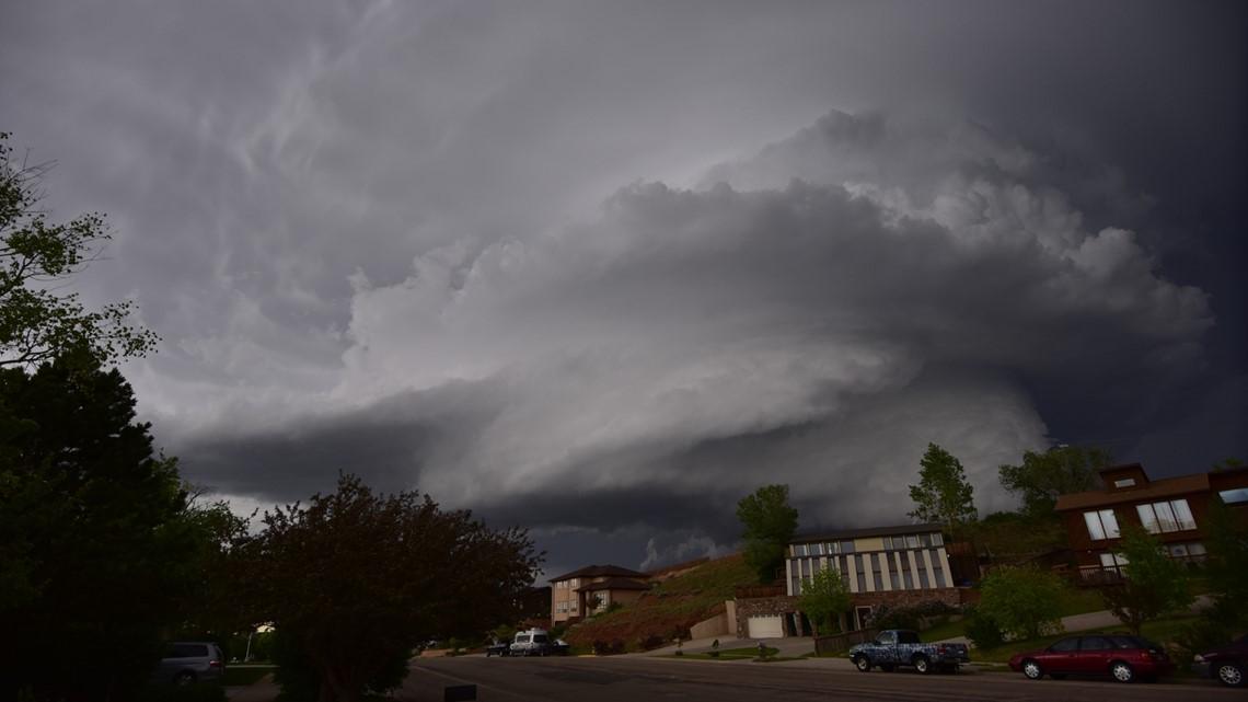 Views Of Tornado Near Laramie Wy 9news Com