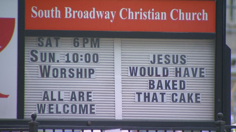 A Denver church weighed in on the Supreme Court's ruling in favor of Masterpiece Cakeshop in Lakewood.