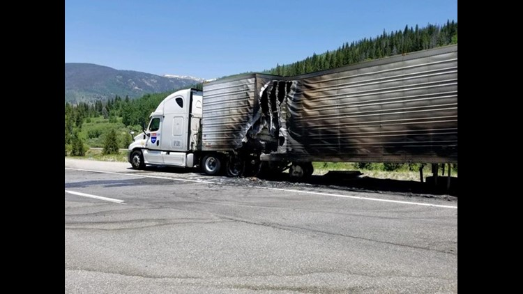 I-70 is expected to be closed in the area for two to four hours.