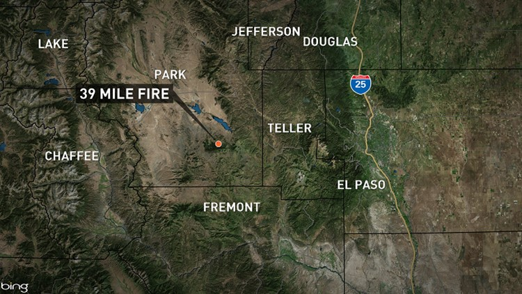 Human Caused Wildfire Reported In Park County Fully Contained