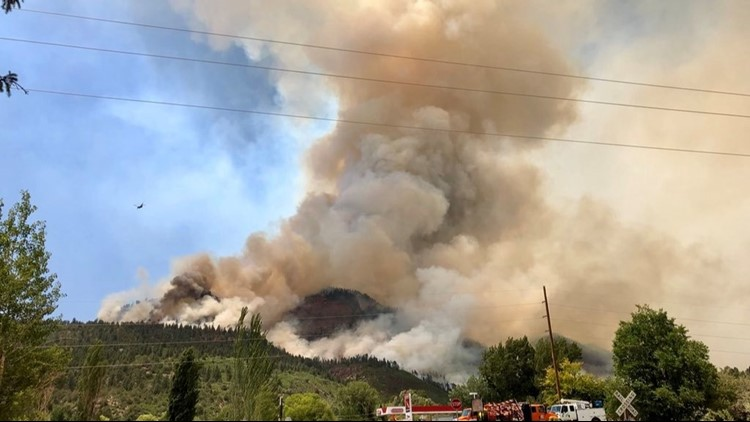 Next Question: Why is it called the 416 Fire? How did the fire that's burning over 23,000 acres get its name?