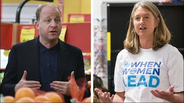 The survey of likely Democratic voters revealed that Rep. Jared Polis had a lead on Cary Kennedy.