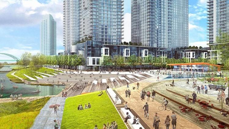 River Mile' development plan near Elitch Gardens moves