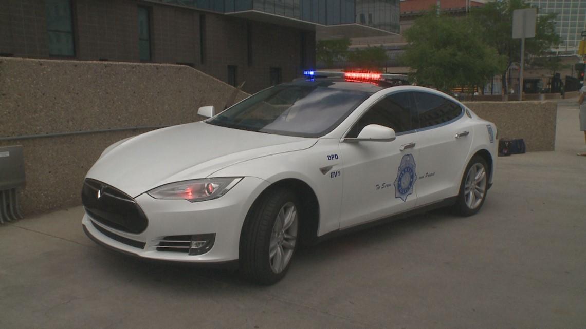 Gas Prices Denver >> Verify: Yes, the Denver Police Department owns a Tesla | 9news.com