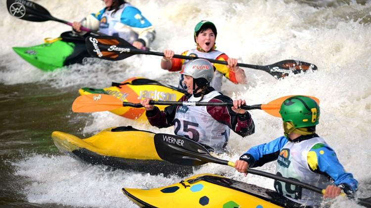 Chris Miller, FIBArk Boat Races FIBArk Whitewater Festival — Salida