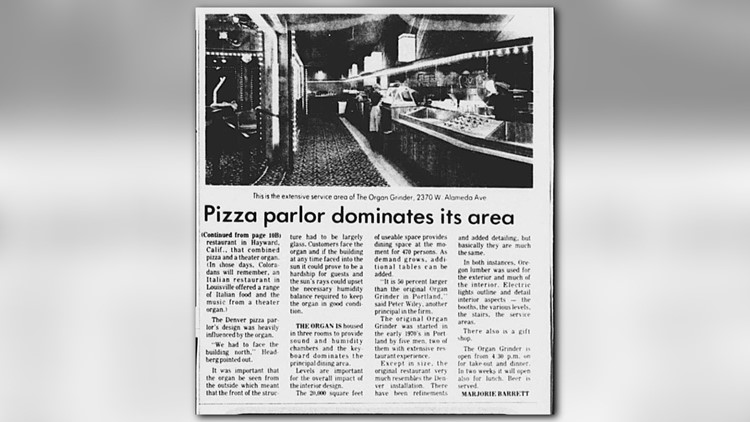Thanks to the Denver Public Library for these old newspaper clippings.