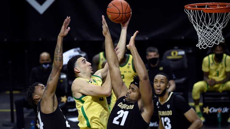 Duarte, Richardson lift Oregon over Colorado 60-56