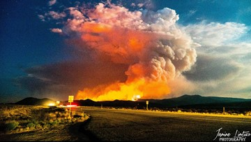 Spring Fire now 70 percent contained | 9news com