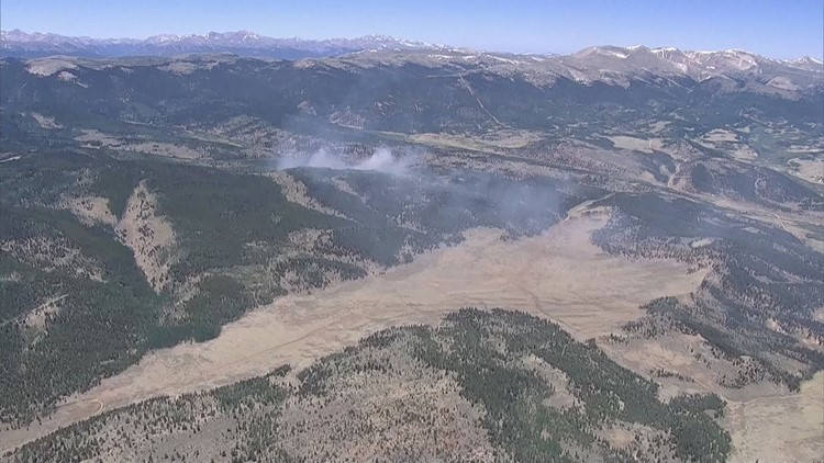 Information About The Multiple Wildfires Burning In Colorado Right
