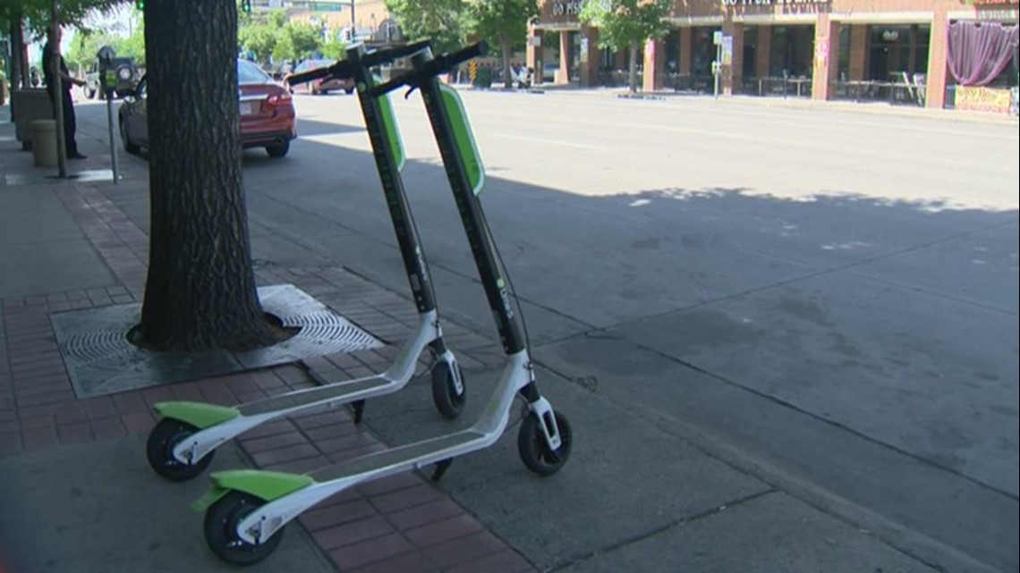 denver unveils pilot program for electric scooters. Black Bedroom Furniture Sets. Home Design Ideas