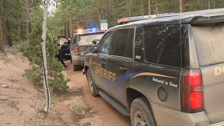 The suspect is accused of randomly fire at campers off Rampart Range Road last week.