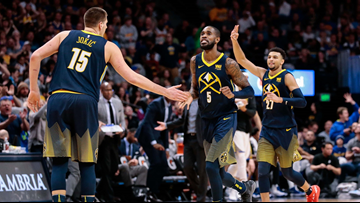 Nuggets in 3-game slump with Rockets arriving in town