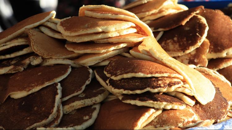 Cheyenne Frontier Days pancakes