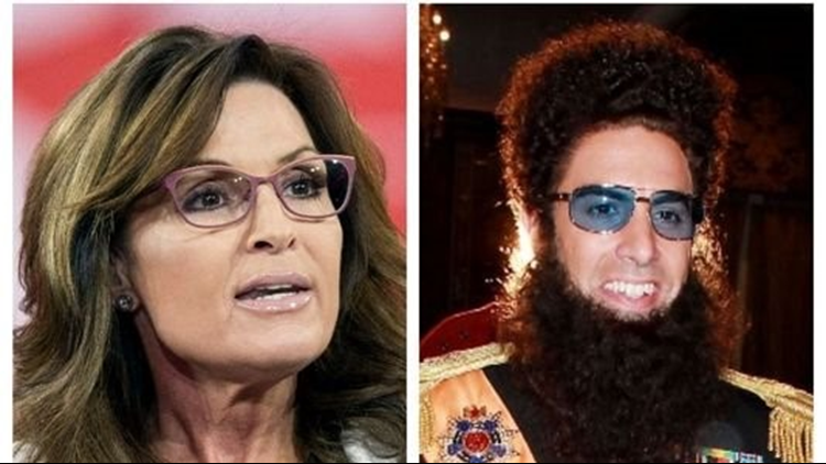 Sarah Palin is the latest public figure to be tricked by Sacha Baron Cohen, and she's not taking it lightly.