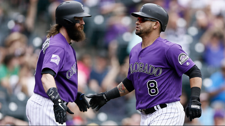 The Rockies beat the Arizona Diamondbacks 5-1 on Thursday.