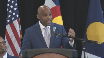 Denver Mayor Michael Hancock announces proposal to raise minimum wage for city employees to $15 per hour