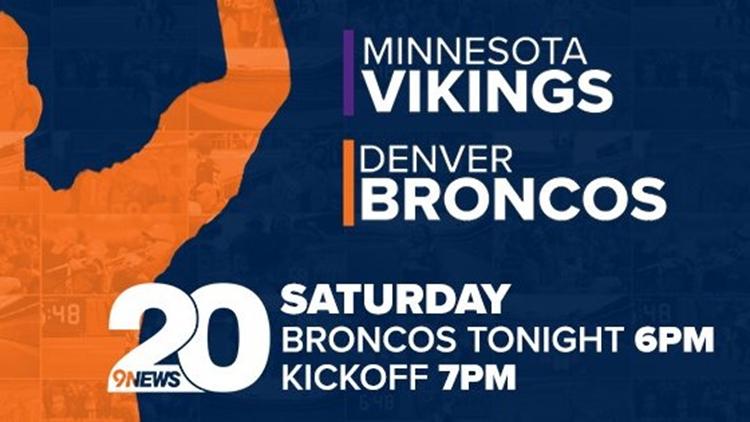 Vikings vs Broncos