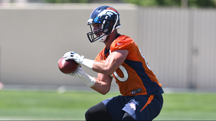Broncos tight end Jake Butt out for season with torn ACL