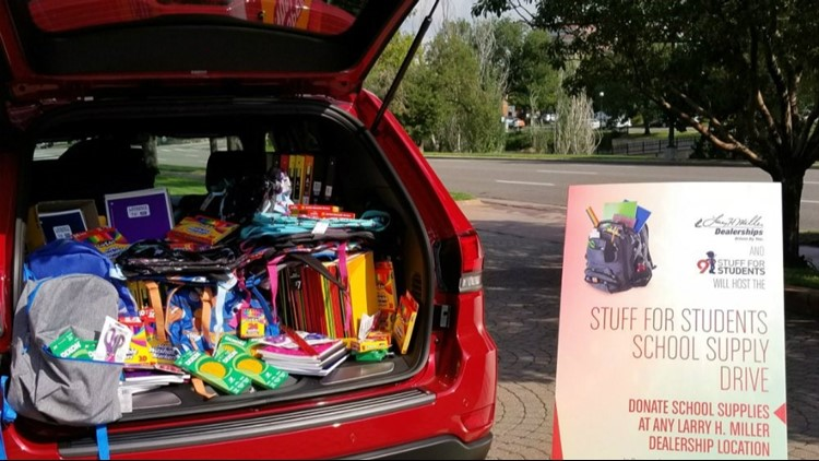 """Help Colorado students get the school supplies they need by participating in the 17th annual """"Stuff for Students"""" school supply drive. CONTENT PROVIDED BY LARRY H. MILLER."""