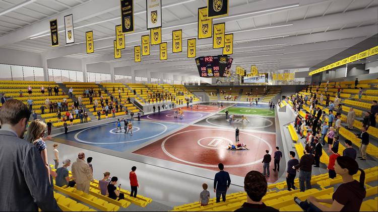Edward J Robson Arena wrestling