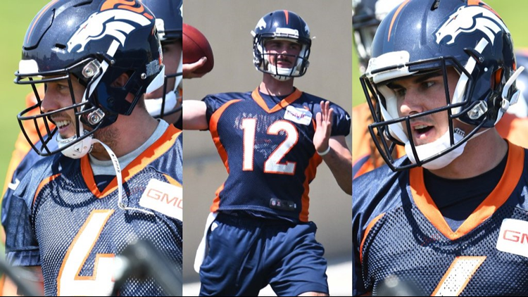 cheaper 825d6 568d4 Broncos Training Camp Preview: Keenum, Lynch, Kelly and QBs ...