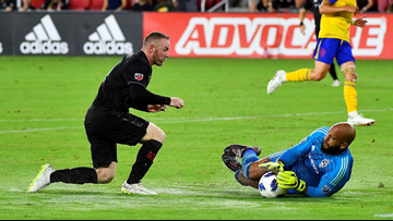 Rooney's first MLS goal helps DC United beat Rapids 2-1