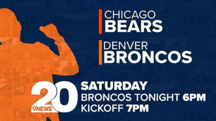 Broncos Bears Saturday