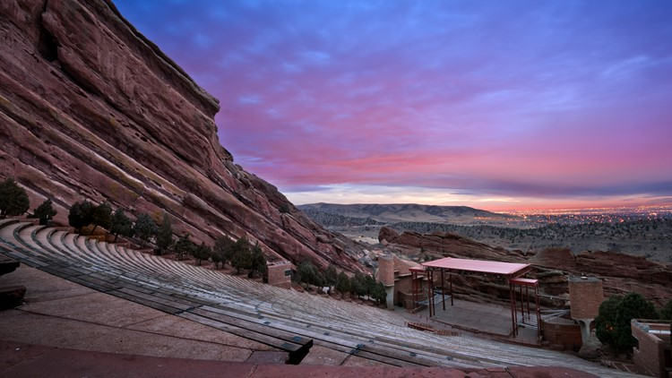 Red Rocks Amphitheatre sunrise thinkstock GETTY