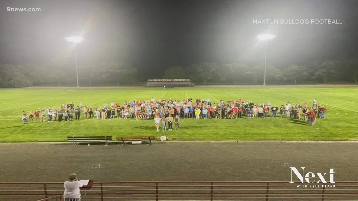 Small town community in Colorado raises money for competing school after tragedy