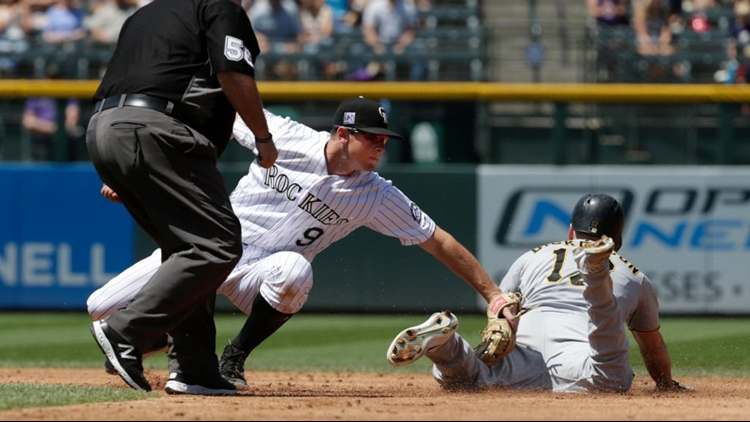 Adam Frazier had three hits and made a run-saving play in the field, and the Pittsburgh Pirates beat the Colorado Rockies 4-3 on Wednesday.