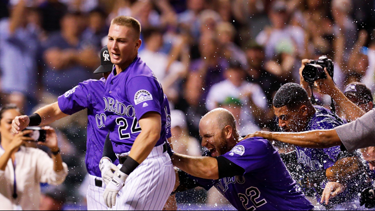 Ryan McMahon hit a three-run home run with two outs in the ninth inning - his second go-ahead homer in as many nights - and the Colorado Rockies beat the Los Angeles Dodgers 3-2 on Saturday night.