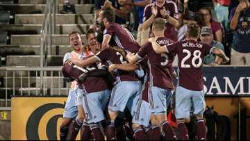 Boateng's late goal lifts Rapids over Earthquakes 2-1