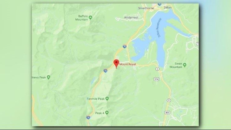 A spokesman for Summit County Rescue Group says the 43-year-old woman was trying to hike through a rocky area when she lost her balance.