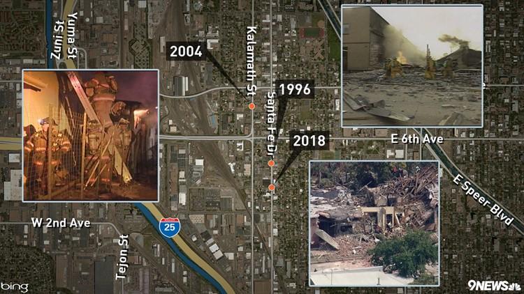 Santa Fe Explosions History