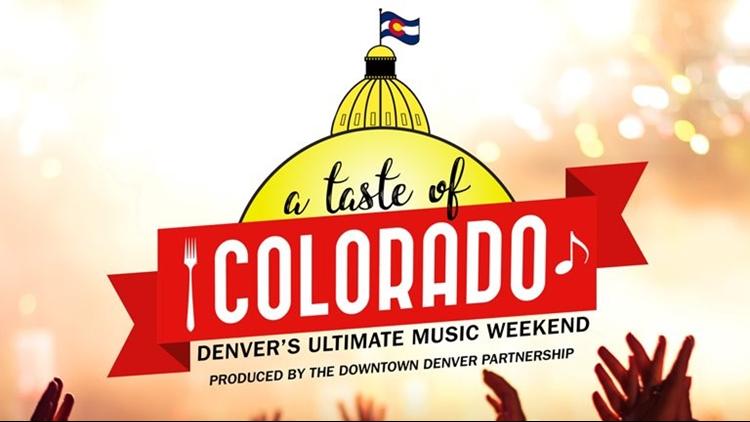 A Taste of Colorado 2018 Logo