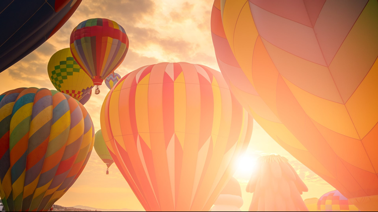 Hot Air Balloons Cropped