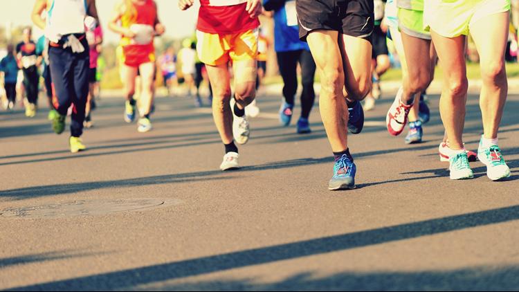 Runners Feet Running Race