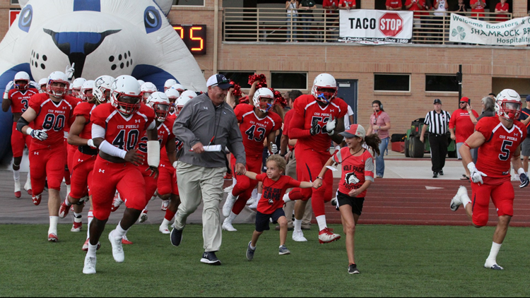 CSU Pueblo Thunderwolves Football entrance