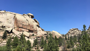 This trail has incredible rock formations and views – and you might actually get a parking spot