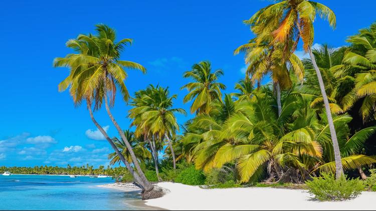 Cayman Islands tropical island beach