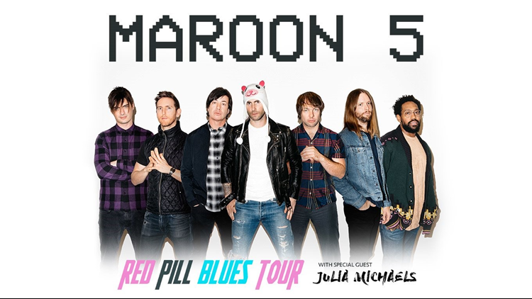 Maroon 5 Julia Michaels
